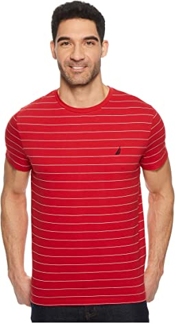 Nautica - Yarn-Dyed Stripe Crew T-Shirt