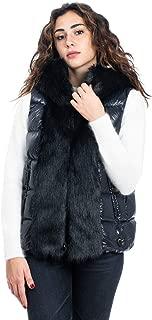 Geospirit Luxury Fashion Womens GED084402140184NER Black Vest   Fall Winter 19