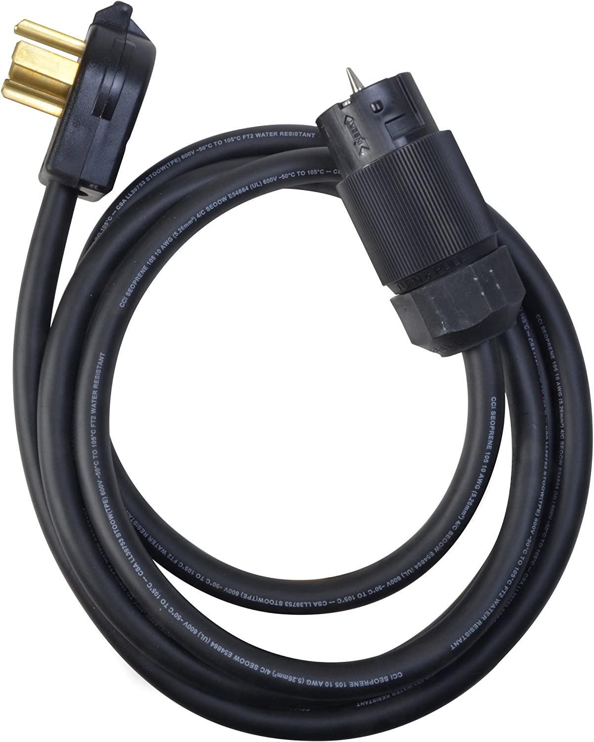 Coleman Cable Price reduction 01824 Power Cord Distribution Extension Oklahoma City Mall Generator