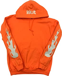 Best white hoodie with flames on sleeves Reviews