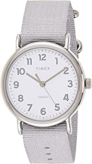 Timex Women's Quartz Watch, Analog Display and Textile Strap TW2R92500