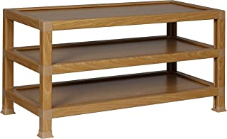 OneSpace 100% Recycled Paper TV Stand, Oak