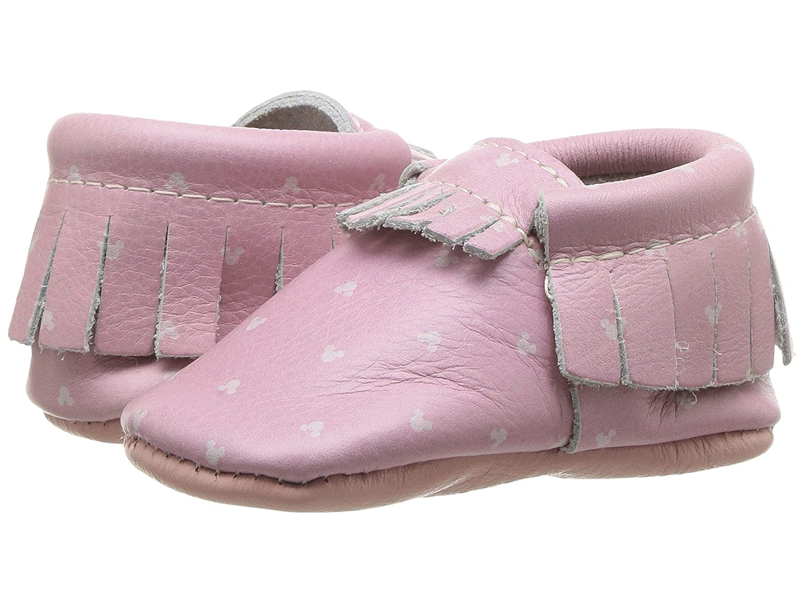 Freshly Picked Soft Sole Disney Moccasins (Infant/Toddler)Atmospheric grades have affordable shoes