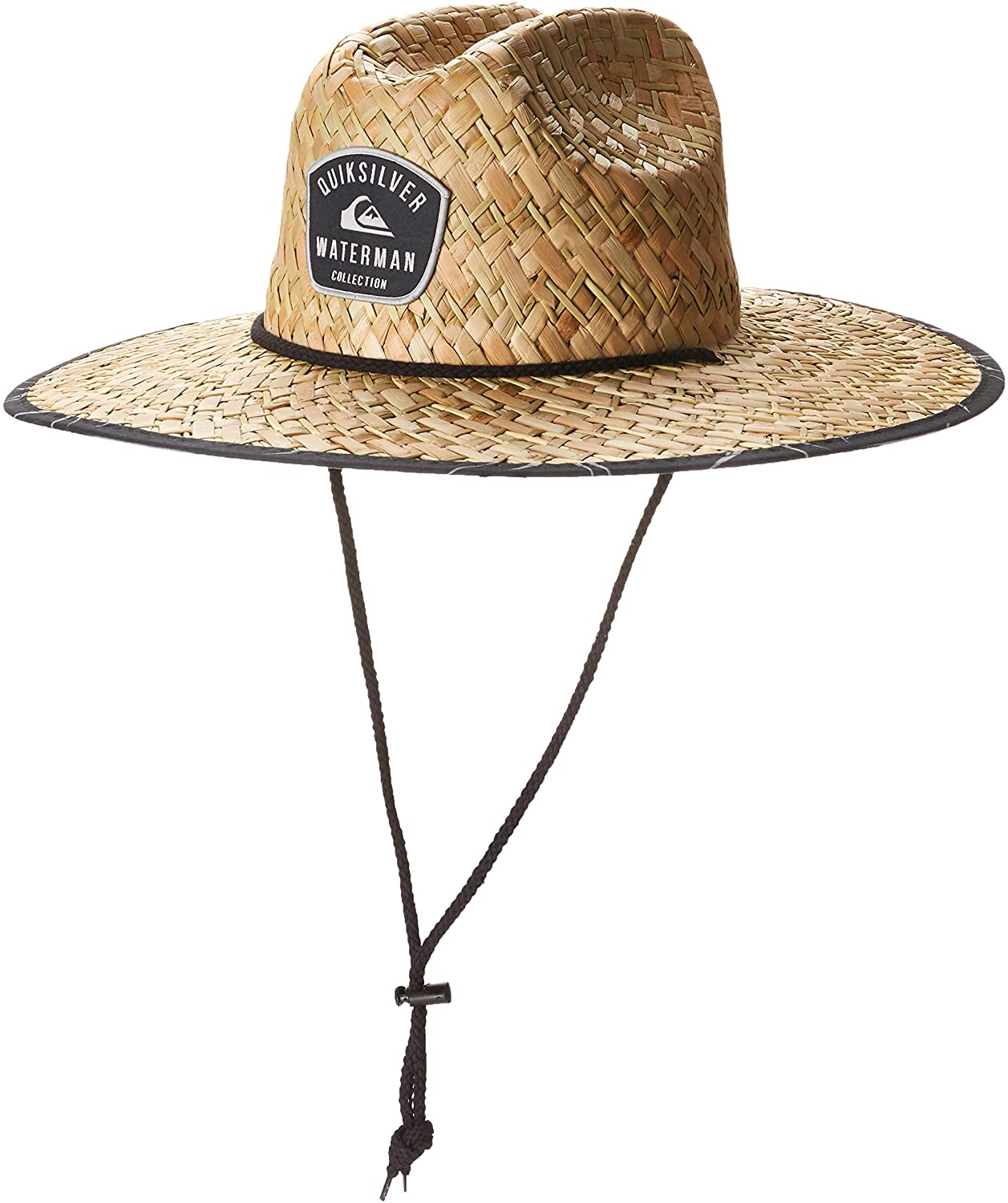 Quiksilver Men's Outsider Waterman Sun Protection Straw Lifeguard Hat : Clothing, Shoes & Jewelry
