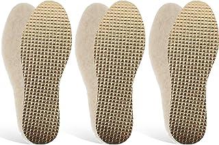 a4f40083 3 pares Plantillas Invierno auténtica piel de cordero lana térmica  Plantillas 39