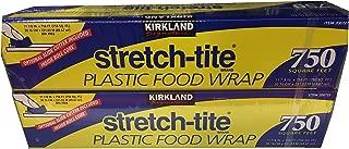 Kirkland Signature Stretch-Tite Plastic Wrap, 2 Count
