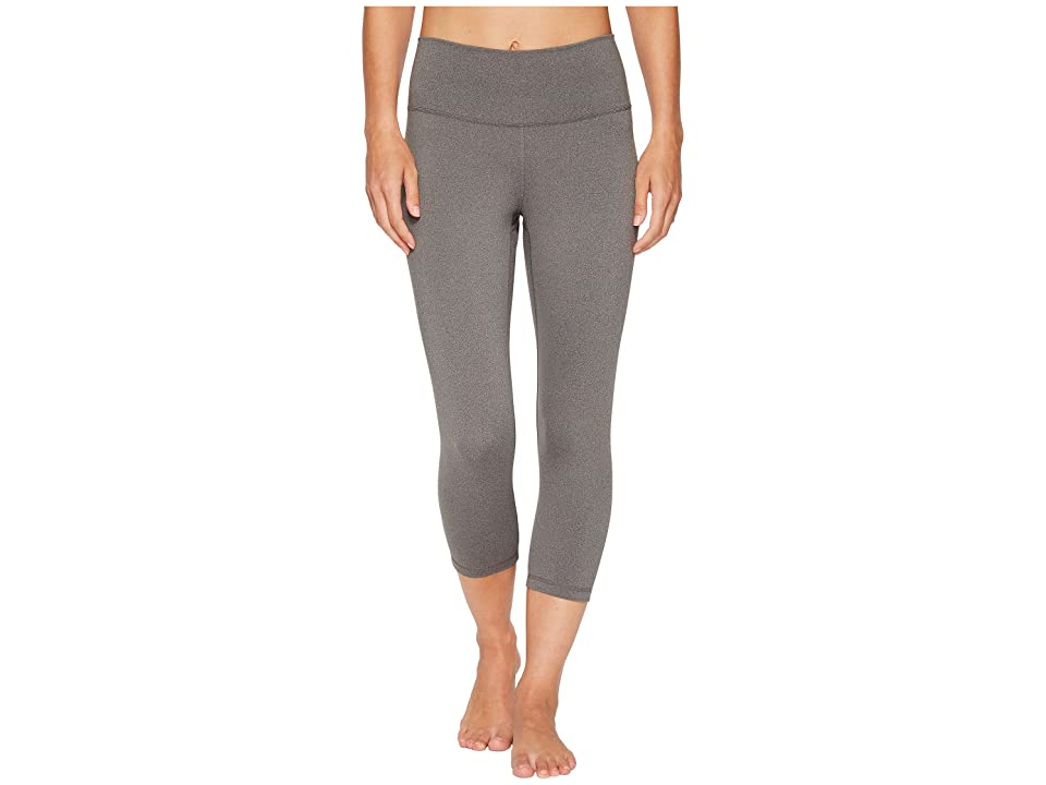 adidas Believe This High-Rise 3/4 Tights (Dark Grey Heather) Women