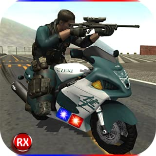 Police Motorcycle Secret Agent