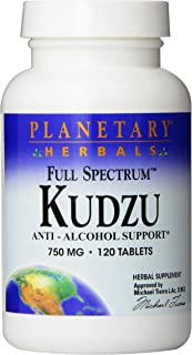 Planetary Herbals, Kudzu Root, Chinese Premium Herbal, Health and Beauty, 750 mg, 120 Tablets