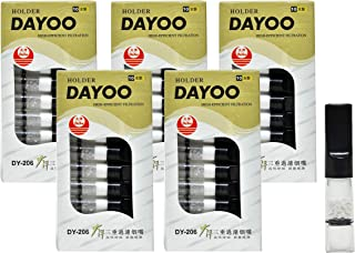 SaleOn™ DAYOO Cigarette Smoking Filters Tobacco Cigarette Filter Reduce Tar Nicotine/1 Box Contain 10 Filter (5box)-807