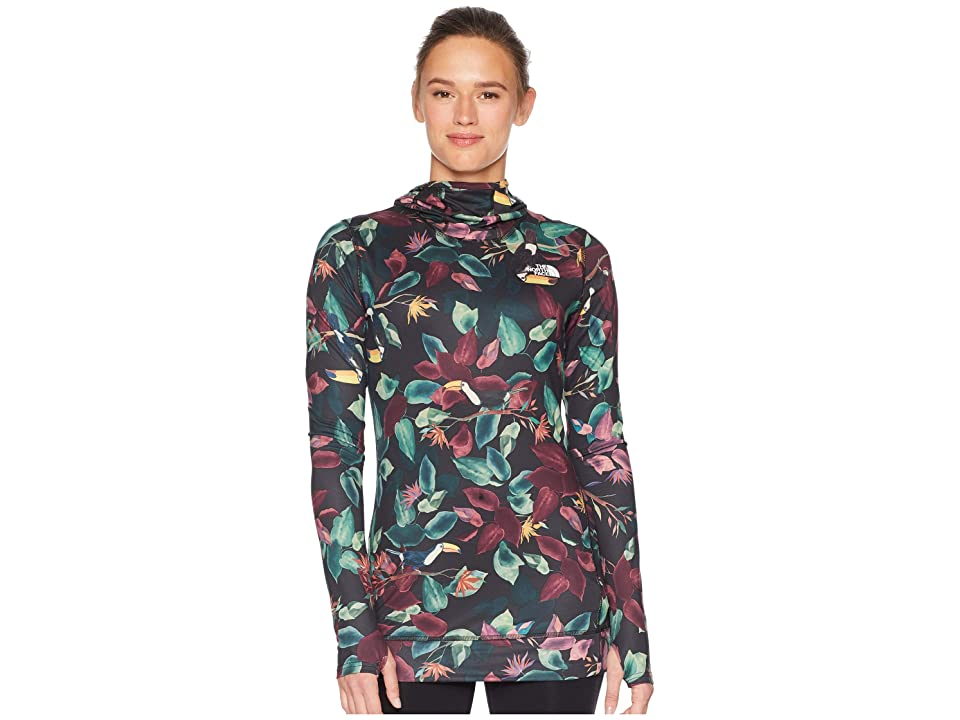 The North Face Base Layer Top (TNF Black Toucan Print) Women