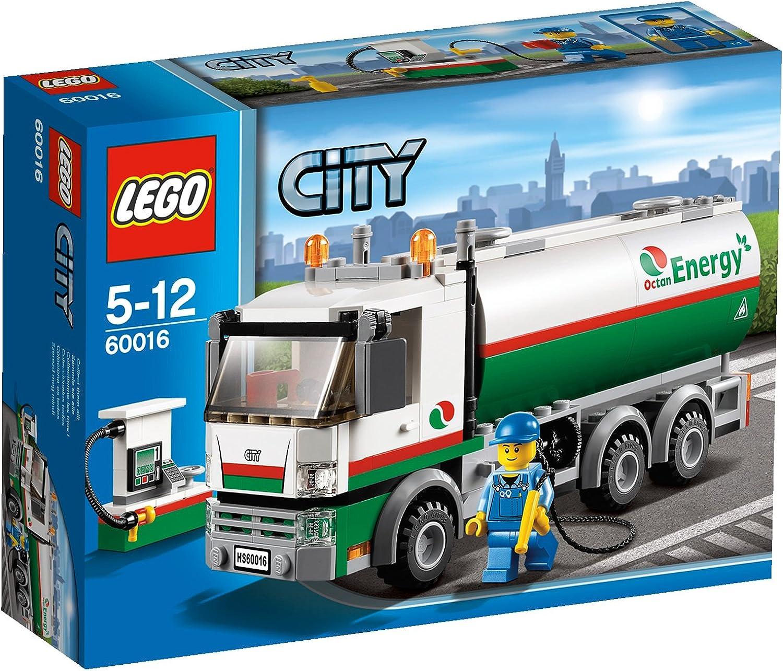 calidad fantástica LEGO City - Grandes vehículos    camión Cisterna (60016)  autentico en linea