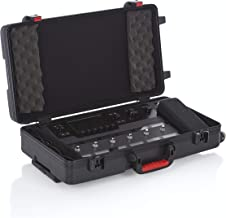 Gator Cases ATA Style Case for the Line 6 Helix Multi-FX Floor Processor with Wheels (GHELIXFLOOR)