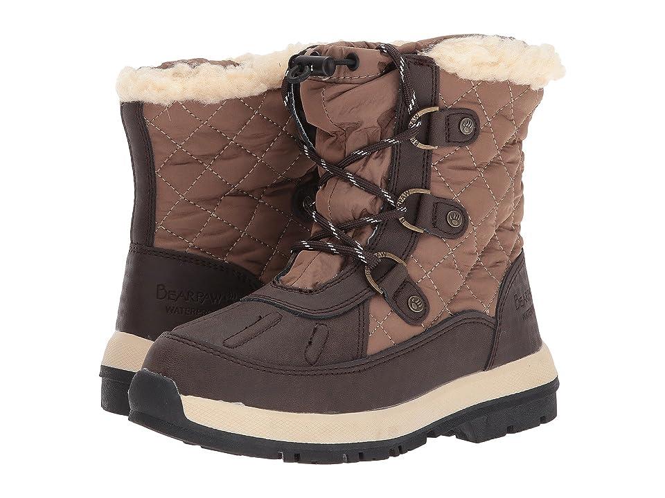 Bearpaw Kids Bethany (Little Kid/Big Kid) (Chocolate/Tan) Girls Shoes