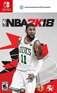 NBA 2K18 Nintendo Switch with Bonus Content