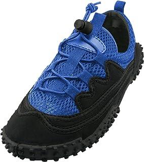 Cambridge Select Women's Lace-up Closed Toe Stretch Elastic Closed Toe Mesh Quick Dry Non-Slip Water Shoe