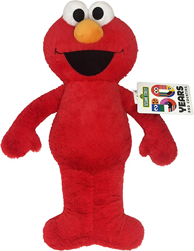 Jay Franco Sesame Street Plush Stuffed Elmo Large Pillow Buddy Super Soft Polyester Microfiber 22 Inch Official Sesame Street Product