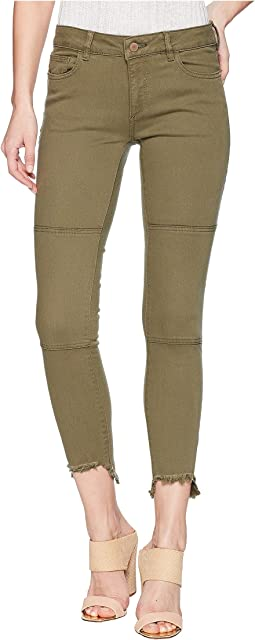 DL1961 Margaux Instasculpt Ankle Skinny in Cargo Green