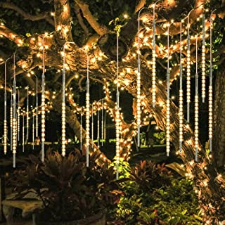 BlueFire Upgraded 50cm 10 Tubes 540 LED Meteor Shower Rain Lights, Drop/Icicle Snow..