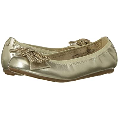 Stuart Weitzman Kids Fannie Chain Bow (Little Kid/Big Kid) (Gold) Girl