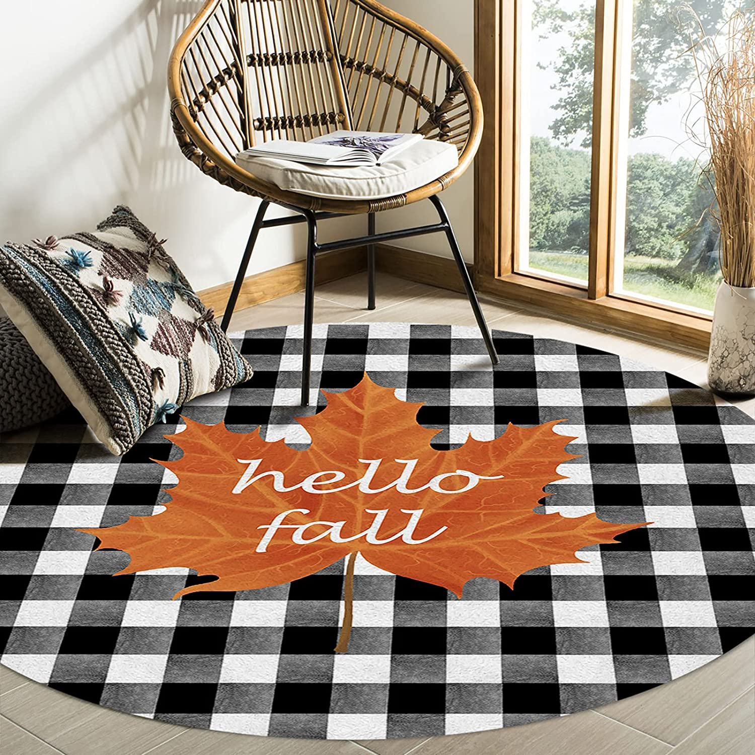 OFFicial store Felt Area Rugs Stain Proof Louisville-Jefferson County Mall Carpets for Room Hello Living Bedroom