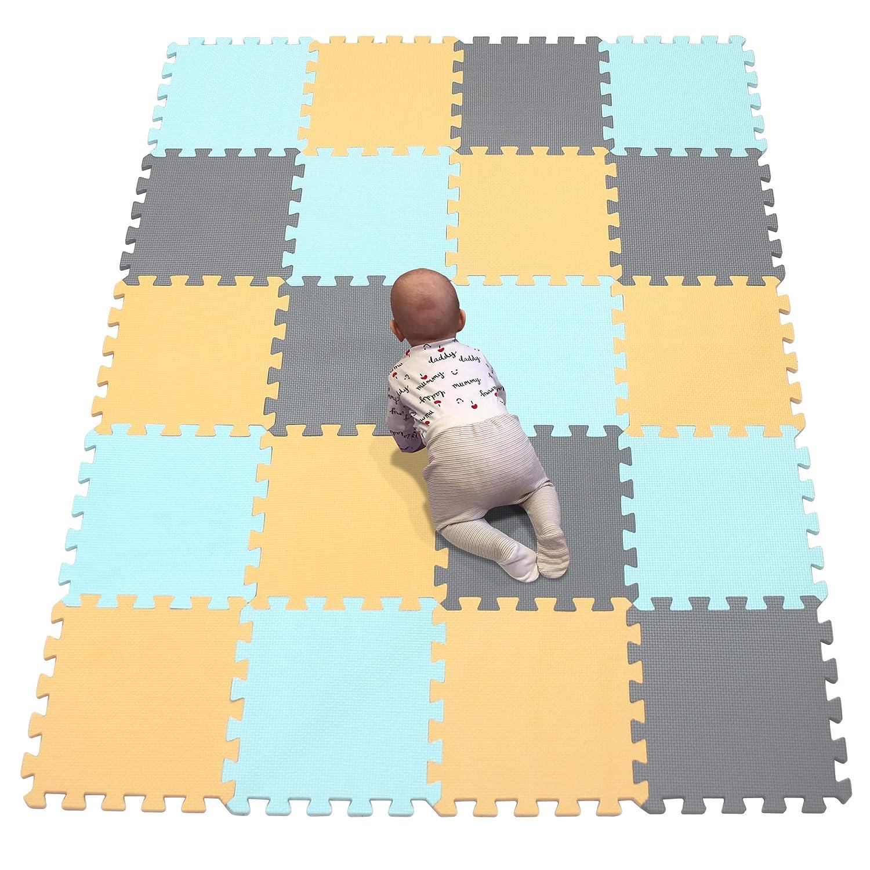 YIMINYUER Max 46% OFF Foam Play Mat NEW Tiles – Interlocking for Mats Chil Floor