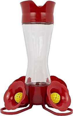 Perky-Pet 203CPBN Pinch Waist Glass Hummingbird Feeder