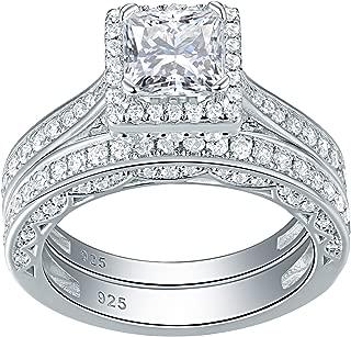 Best diamonique princess cut engagement rings Reviews