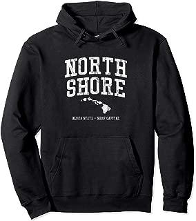 North Shore Hawaii Vintage Style Pullover Hoodie