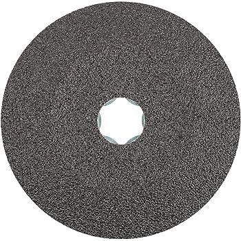 "120 Grit 4-1//2 In Sanding Disc 4.5/"" Silicon Carbide Resin Fiber Discs 25 Pack"