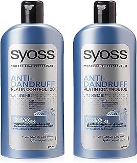 Syoss Anti-Danruff Shampoo, 2 x 500ml
