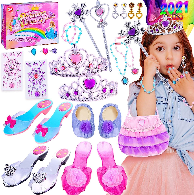 Peertoys Princess Popular popular Selling rankings Toys for Toddler Girls Up Dress - Pretend Pl