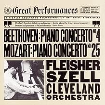 Beethoven: Piano Concerto No. 4 in G Major, Op. 58 - Mozart: Piano Concerto No. 25 in C Major, K. 503