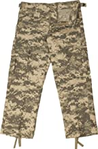 Army Universe Kids ACU Digital Camouflage Military Army BDU Pants Fatigues Pin