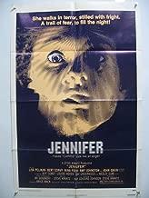 JENNIFER-1978-ORIGINAL HORROR ONE SHEET EX/NM