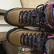 OTAH Forestier Womens Waterproof Hiking Mid-Cut Camel//Pink Boots