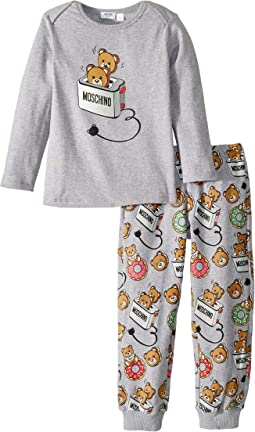 Moschino Kids - Teddy Bear Graphic T-Shirt & Pants Set (Infant/Toddler)