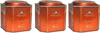 Harney & Sons Hot Cinnamon Spice Tea - 30 Tea Sachets (Pack of 3) - Black Tea with Oranges & Sweet Cloves