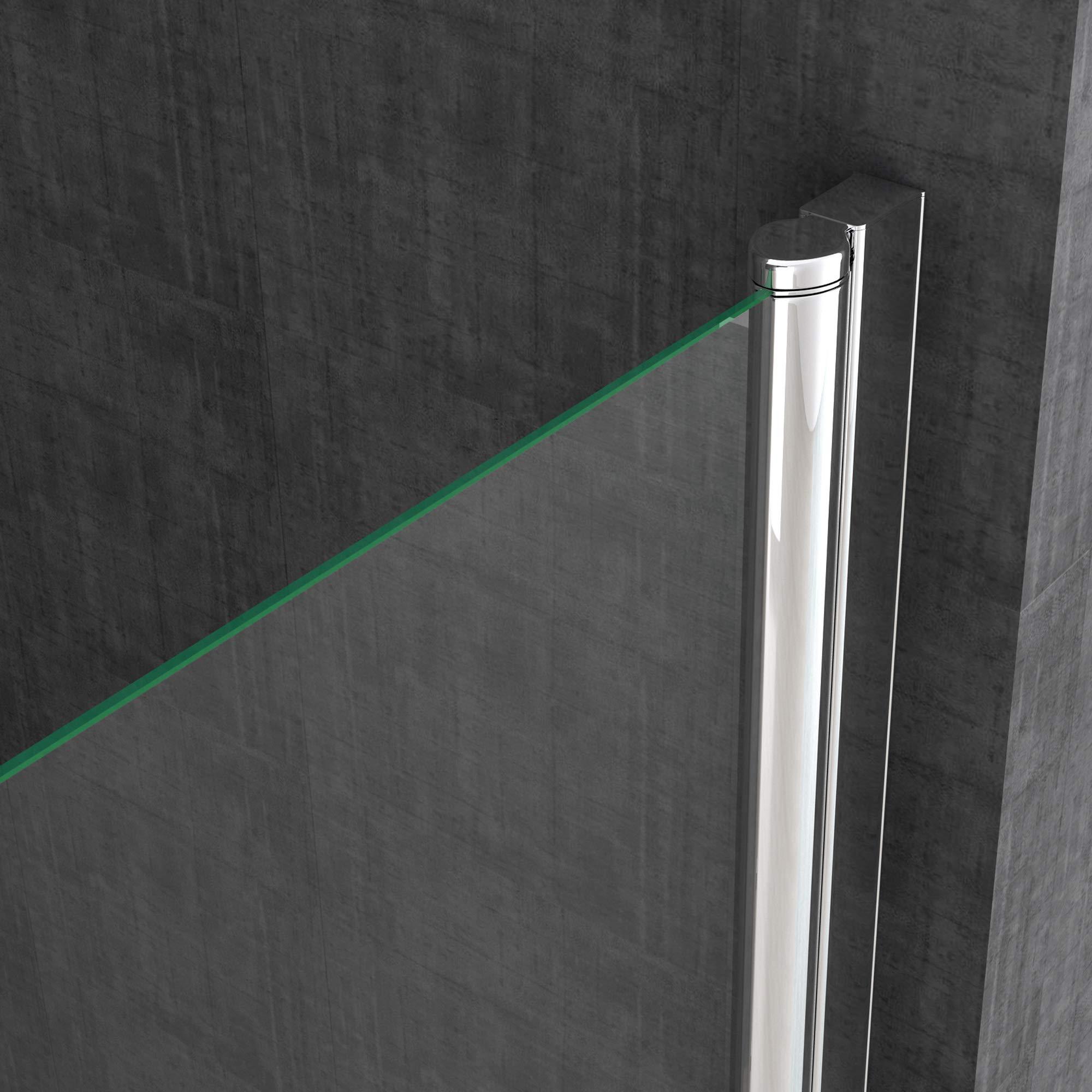 BTH: 70 x 85 x 190 cm Diseño Mampara ravenna22 con doble puerta oscilante, cristal de seguridad de 6 mm cristal transparente, incluye dos caras al nano-recubrimiento: Amazon.es: Bricolaje y herramientas