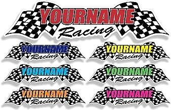 racing decals custom