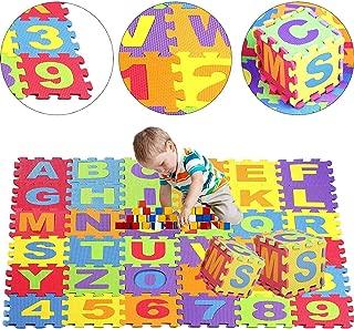 Jueyan® 36 Piezas Alfombras Infantil Alfombras Puzzle de