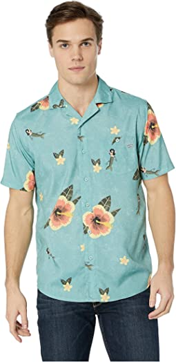 Tradewinds Short Sleeve Tech Woven Top