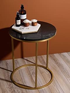 Best Home Fashion Marble Tables (06_Black)