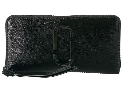 Marc Jacobs Standard Continental Wallet (Black) Wallet Handbags