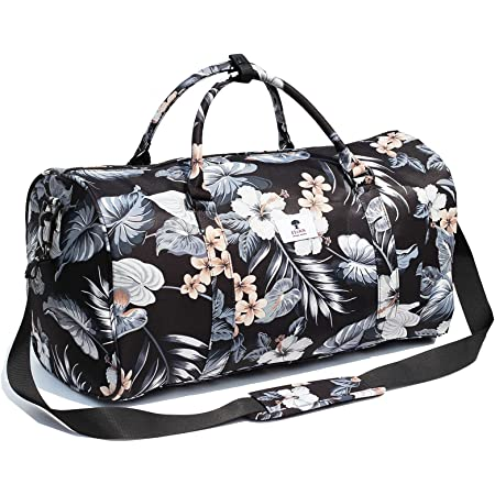 Original Floral Wasserabweisend Duffel Bag Gym Bag Weekender Reisetasche für Gym Beach Travel School Daily Bags