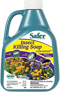 Safer Insect Killing Soap II Conc. 16 oz