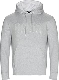 Hugo Boss Men's Gray Soody Sweatshirt