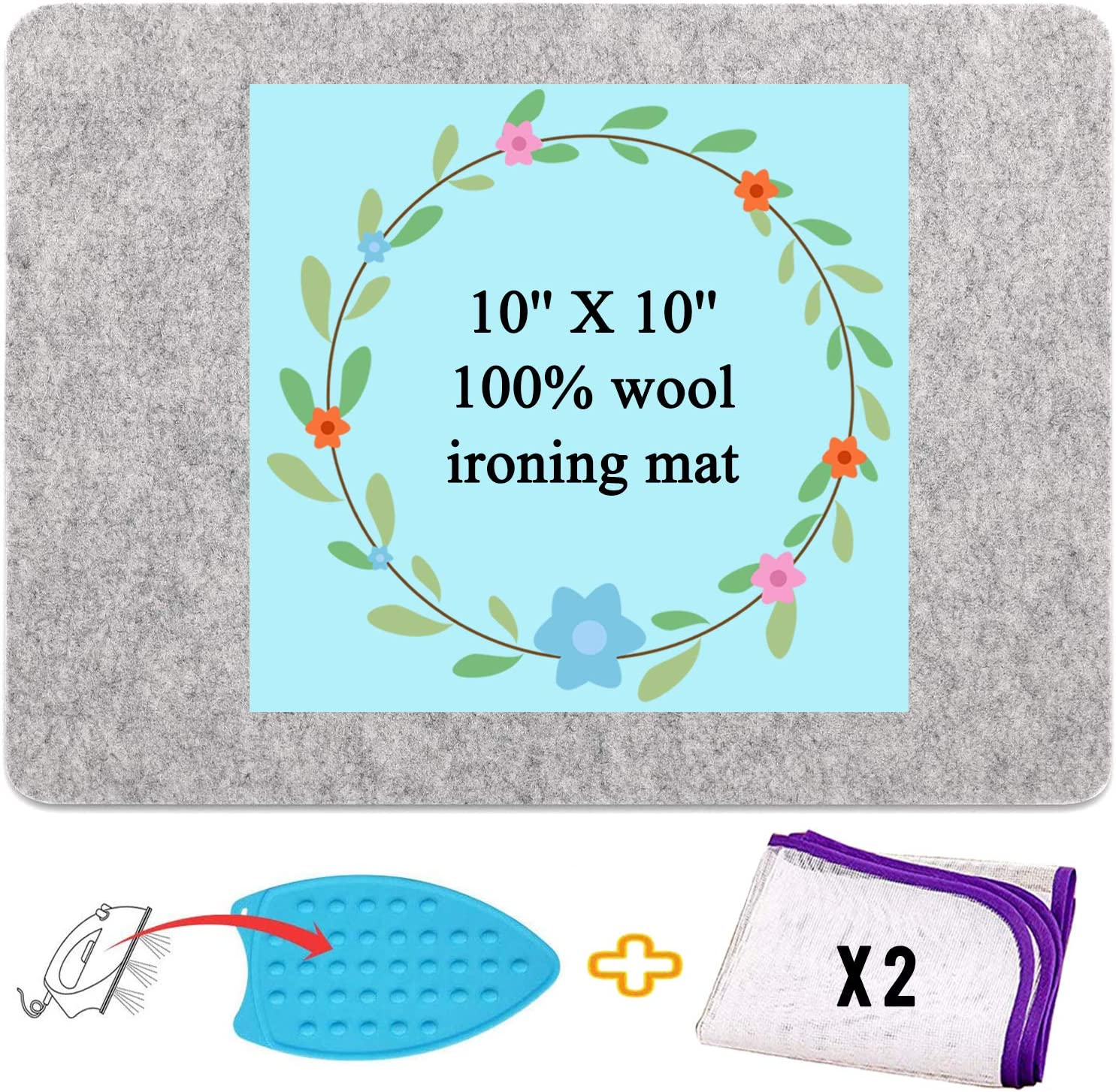 Wool Pressing Mat for Max 74% OFF shipfree Smal Quilting 10