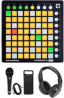 Novation LAUNCHPAD MINI MK2 MKII USB MIDI DJ Controller+Mic+Headphones