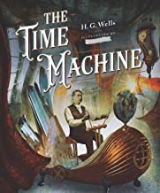 The Time Machine -illustrated (English Edition)